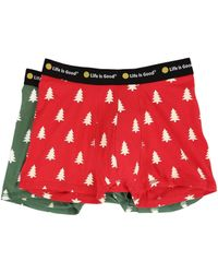 Life Is Good. - Pine Trees Boxer Brief Set - Lyst