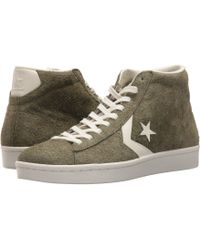 Converse | Pro Leather 76 Mid | Lyst