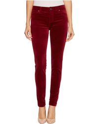 Kut From The Kloth - Mia Toothpick Skinny In Red - Lyst