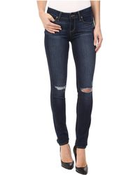 PAIGE - Verdugo Ultra Skinny In Aveline Destructed - Lyst