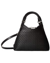 27005d8a82 Cole Haan Mila Patent Leather Tote Bag in Black - Lyst