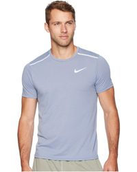 7d14215aa4c6 Lyst - Nike Dri-fit Breather Tailwind Shirt in Green for Men