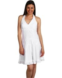 Scully | Cantina Halter Dress | Lyst