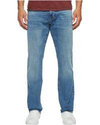 Mavi Jeans - Zach Regular Rise Straight Leg In Light Williamsburg - Lyst