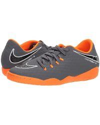 b6dc8f4642fa Nike - Hypervenom Phantomx 3 Academy Ic (dark Grey/total Orange/white)