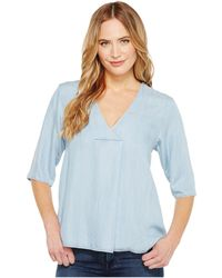 B Collection By Bobeau - Maureen Lyocell Blouse - Lyst