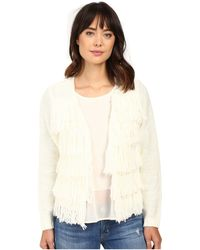 Brigitte Bailey - Dharma Fringed Sweater - Lyst