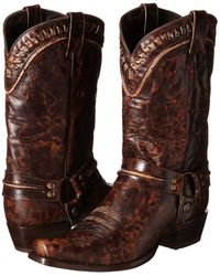 Stetson - Outlaw Buckstitch Western Boot - Lyst