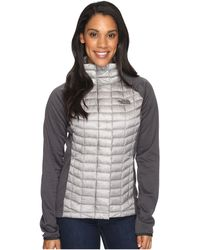 The North Face - Thermoball Hybrid Full Zip - Lyst