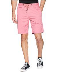 True Grit - Malibu Drawstring Stretch Shorts - Lyst