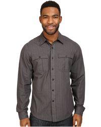 Nau - Striate Long Sleeve Shirt - Lyst