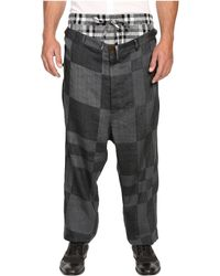 Vivienne Westwood - Cubist Check Builder Trousers - Lyst