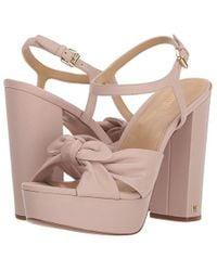 6456fade09 MICHAEL Michael Kors - Pippa Platform (soft Pink) Shoes - Lyst