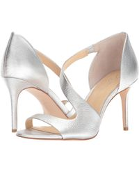 884eefdcc76 Lyst - Imagine Vince Camuto Purch Leather Sandal in Gray