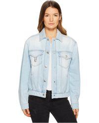 Versus - Blouson Denim/jeans Donna - Lyst