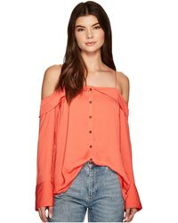 Free People - Walk This Way Button Down - Lyst
