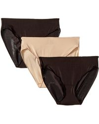 Miraclesuit - Tc Intimates By Miraclesuit Microfiber Hi-cut 3-pack - Lyst