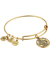ALEX AND ANI - Charity By Design My Love Is Alive Charm Bangle - Lyst