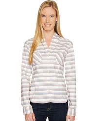 Mountain Hardwear - Acadia Stretch Hooded Long Sleeve Shirt - Lyst