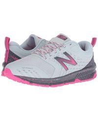 9af667101c50d New Balance - Nitrel (light Porcelain Blue/gunmetal) Running Shoes - Lyst