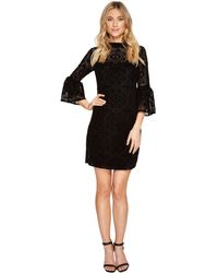 CALVIN KLEIN 205W39NYC - Bell Sleeve Burnout Dress Cd7l28cu - Lyst