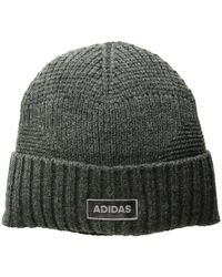 70bd3f0fec7 Lyst - adidas Pine Knot Beanie in Black for Men - Save 83%