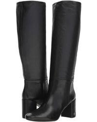 24ad1bc39fca Lyst - Tory Burch  ashlynn  Wide Calf Riding Boot in Black