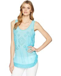 Johnny Was - Vice Tank Top - Lyst