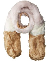 Hat Attack - Faux Fur Scarf - Lyst