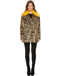Paul Smith - Ps Leopard Peacoat - Lyst