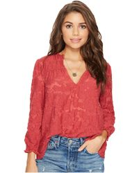Lucky Brand - Peasant Top - Lyst