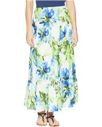 Chaps - Tiered Maxi Skirt - Lyst