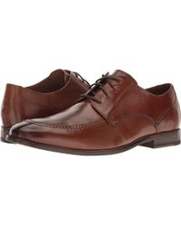 Bostonian - Ensboro Pace (tan Leather) Lace Up Cap Toe Shoes - Lyst