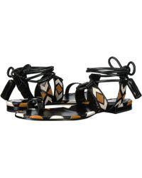 Etro - Ankle Wrap Sandal - Lyst