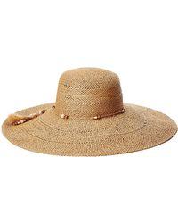 Lauren by Ralph Lauren - Sun Hat With Charms - Lyst