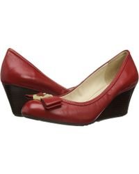 Cole Haan | Tali Grand Bow Wedge 65 | Lyst