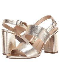 1e0c5ed7a5 Circus by Sam Edelman - Olivia (molten Gold Metallic Crackle) Shoes - Lyst