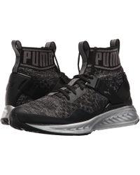 e117c14e033 Lyst - Puma Eskiva Mid Mesh Sneaker in Black for Men