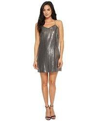 58775632ad56b Boohoo Petite Mia Long Sleeve Velvet Glitter Bodycon Dress in Black - Lyst