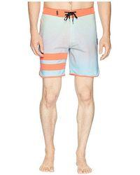 4bcdca9f81 Hurley Phantom Block Party Tie-Dye Boardshorts in Black for Men - Lyst