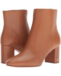 296d08d10bc Lyst - Tory Burch Jesse Bootie in Brown