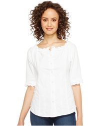 Scully - Cantina Carissa 3/4 Sleeve Top - Lyst