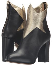 Charlotte Olympia | Galactica Star Leather Ankle Boots | Lyst