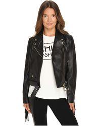 Boutique Moschino - Biker Jacket - Lyst