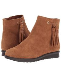1b98b5e1e2b UGG Harwell Leather Buckle-trim Boot in Brown - Lyst