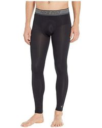 cab0ceb636b69 Nike Pro Colorburst Tights in Blue for Men - Lyst