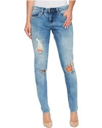 Blank NYC - Skinny Classique Jeans In Medium Wash Blue - Lyst
