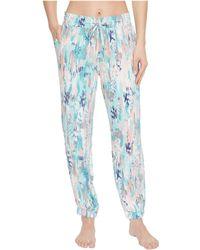 Splendid - Slim Leg Woven Lounge Pants - Lyst