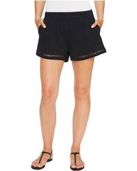 Michael Stars - Shorts With Ladder Trim - Lyst