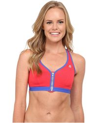 Shock Absorber | Active Zipped Plunge Sports Bra S00bw | Lyst